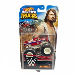 2019 Hot Wheels Monster Trucks WWE AJ Styles